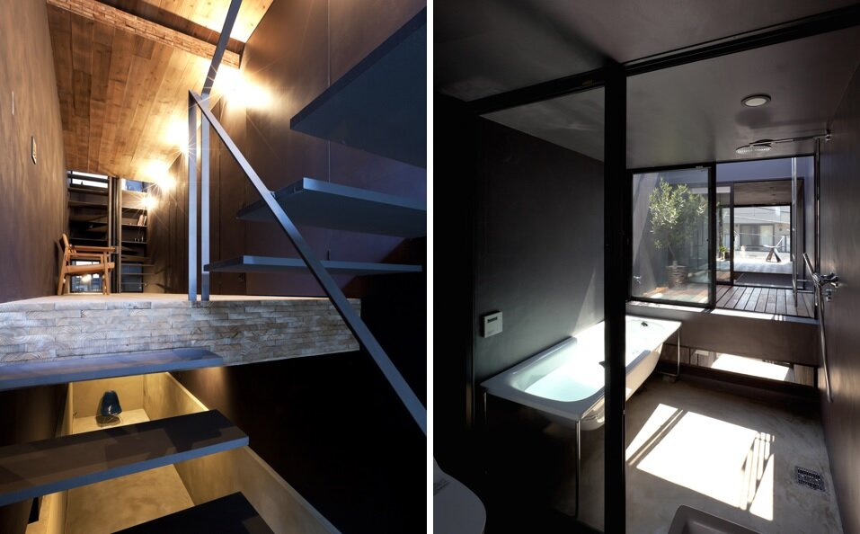 1.8m House - Tiny House - YUUA Architects - Tokyo - Bathroom - Humble Homes