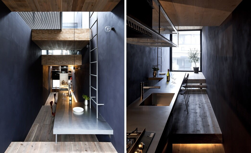 1.8m House - Tiny House - YUUA Architects - Tokyo - Kitchen and Dining - Humble Homes