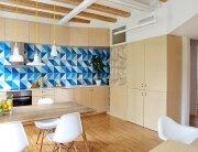 Apartment Pujades11 - Small Apartment - Miel Arquitectos + Studio P10 - Spain - Kitchen - Humble Homes
