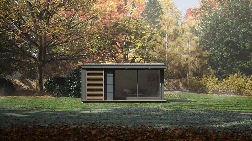 Eco Pod   Garden Studio   Pod Space   UK   Exterior 2   Humble Homes