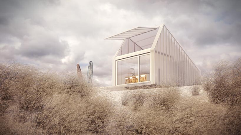 Kite House - D44 Architects - Small House - Brussels - Exterior Side - Humble Homes