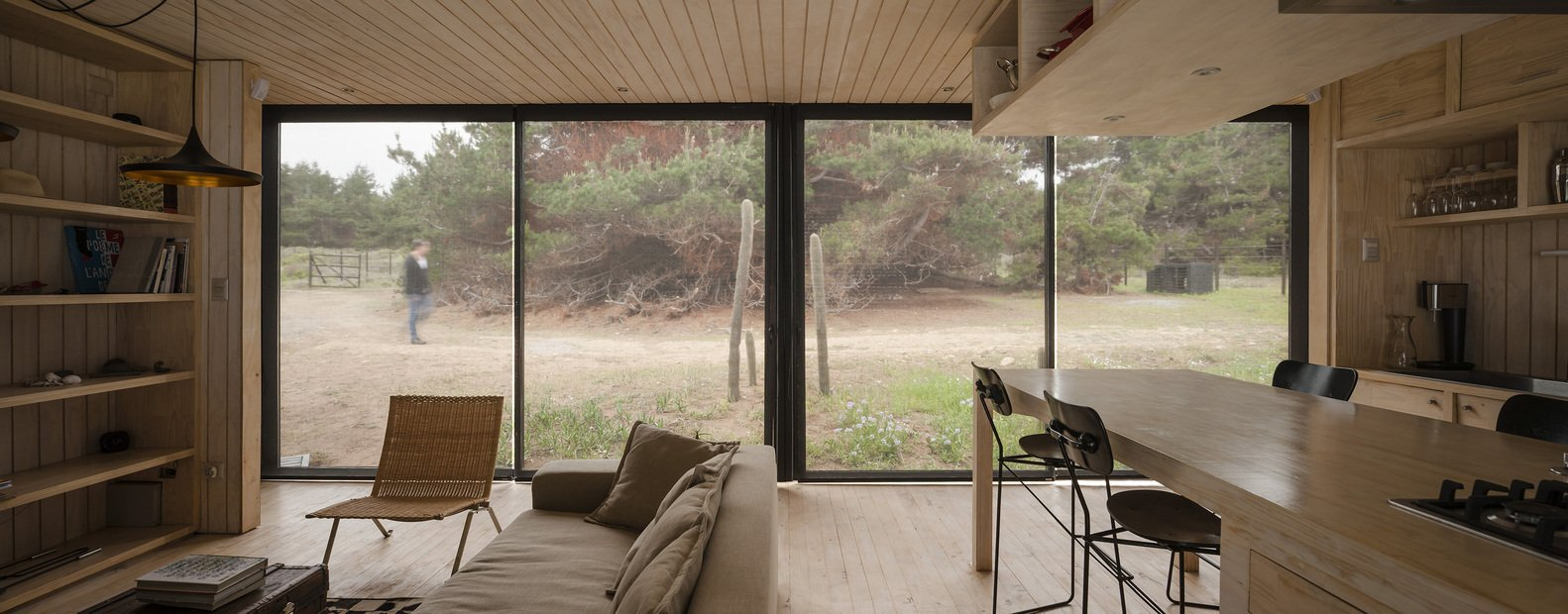 Remote House - Modular House - Felipe Assadi - Chile - Kitchen Dining Area - Humble Homes