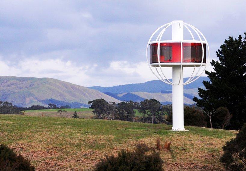skysphere a towering high tech retreat by jono williams