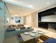 Small Apartment - Yo Home - Simon Woodroffe - Kitchen Revealed - Humble Homes