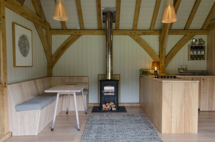 Tiny Cabin - Out Of The Valley - Devon - Wood Burning Stove - Humble Homes
