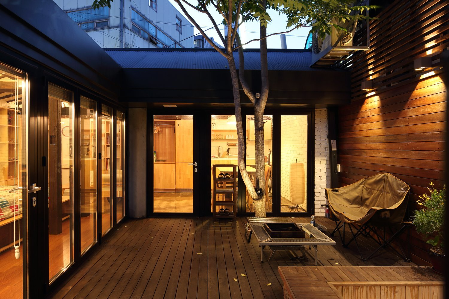 Creative House - Z_Lab - South Korea - Courtyard - Humble Homes