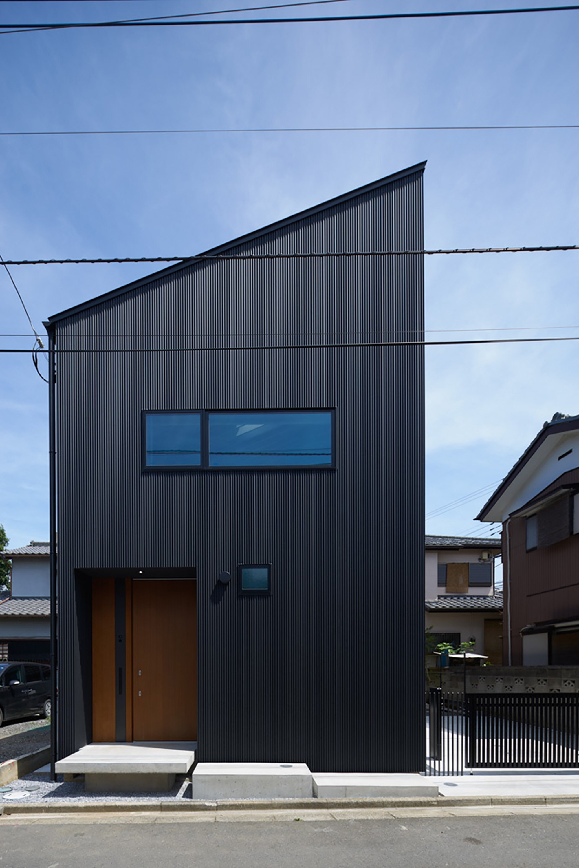 Architecture Design Of Small House A Small Multi Generational Home In  Japankasa Architects