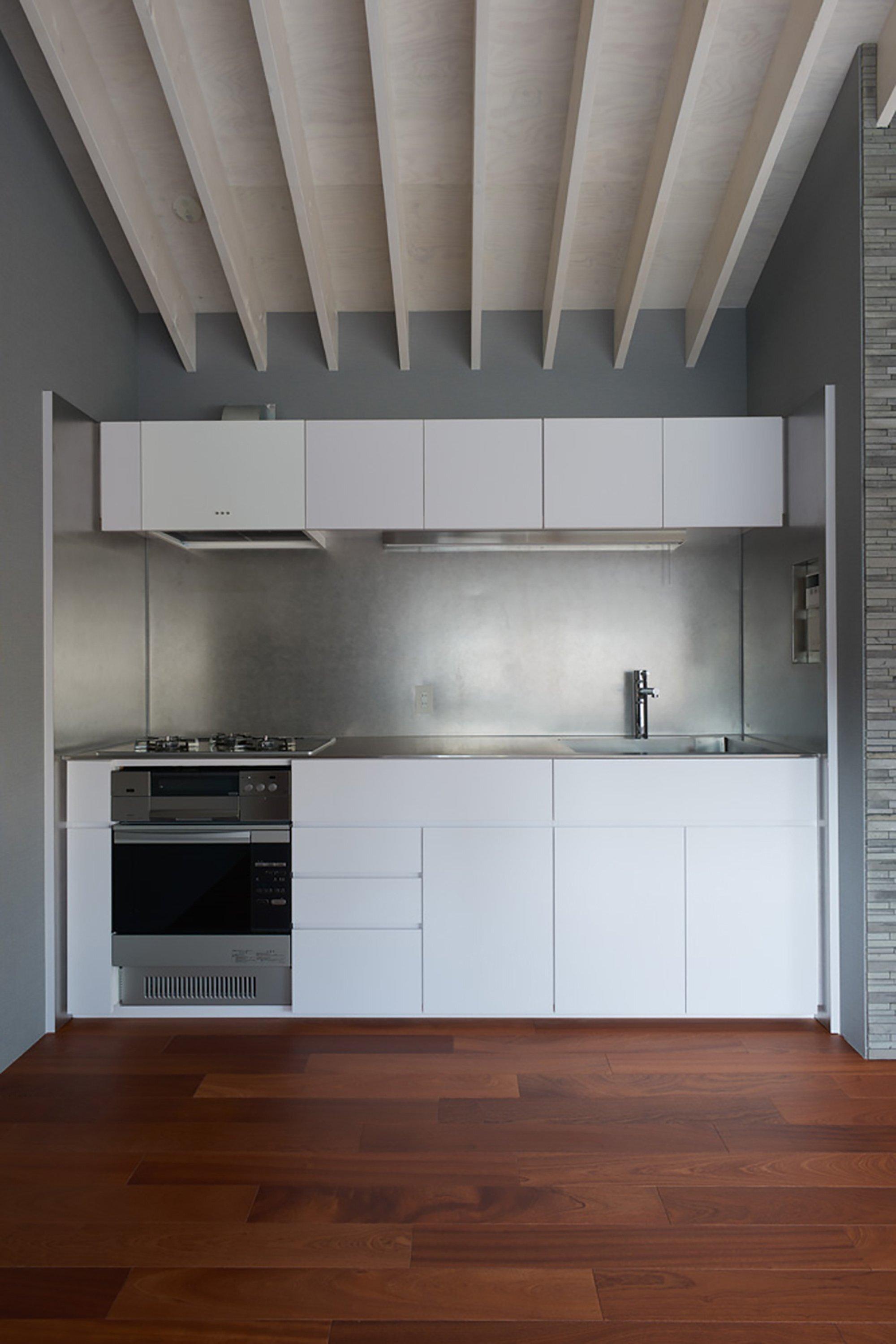 House Ageo - Small House - KASA Architects - Japan - Kitchen - Humble Homes
