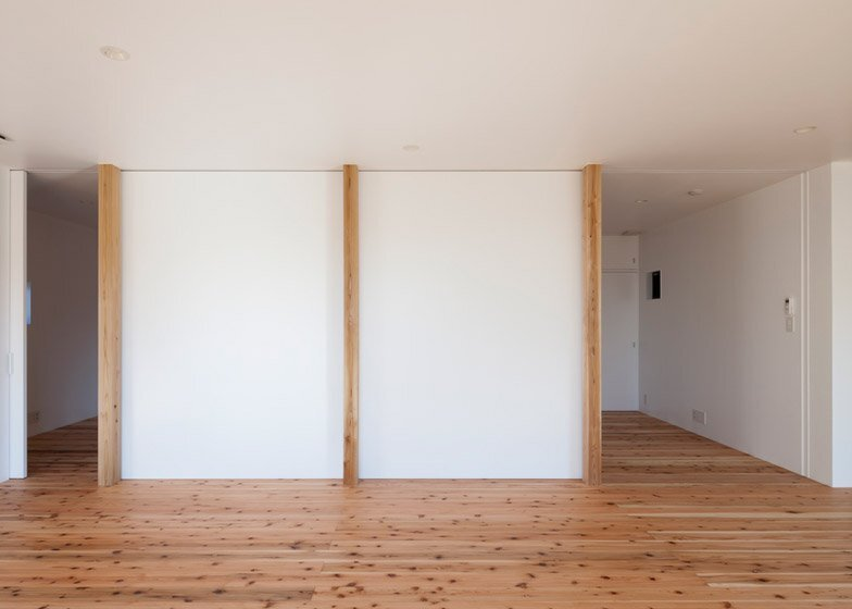 House in Fukaya - Nobuo Araki - Japan - Partitions Open - Humble Homes