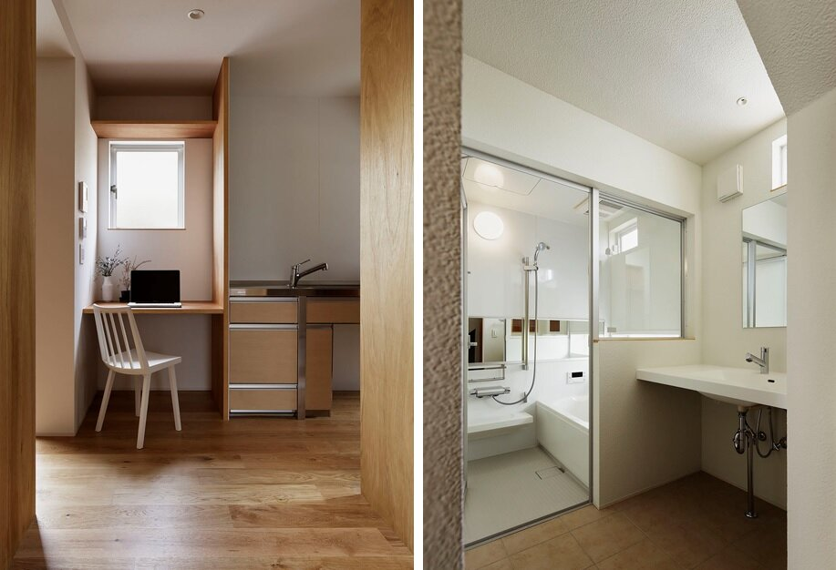 House of Kodaira - KASA Architects - Tokyo - Kitchen and Bathroom - Humble Homes