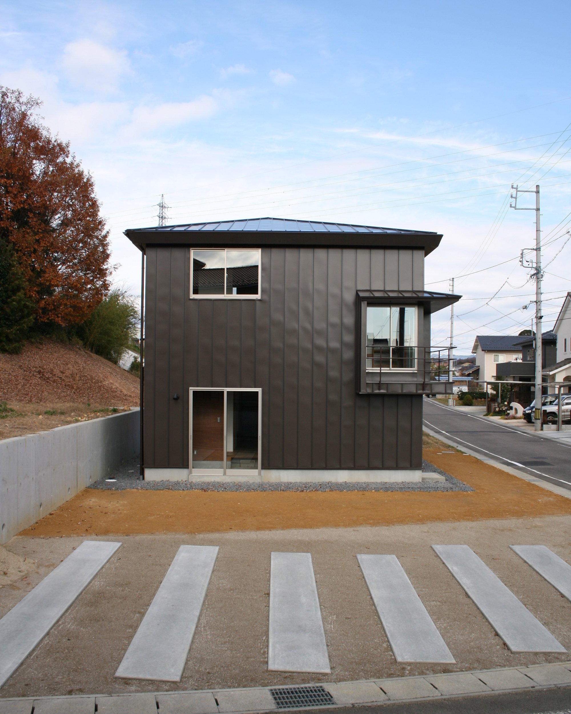 Kamo House - a.un architects - Gifu - Exterior - Humble Homes
