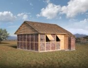 Nepal Project - Disaster Housing - Shigeru Ban - Exterior - Humble Homes