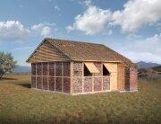 Nepal Project - Disaster Housing - Shigeru Ban - Exterior - Humble Homes