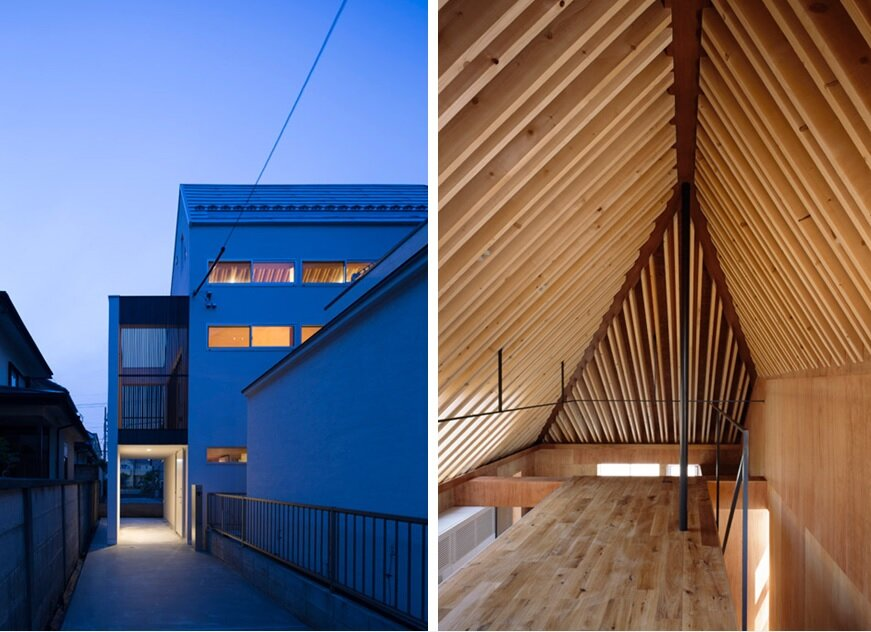 Nord a minimalist japanese house inspired by religious for Minimalist japanese homes