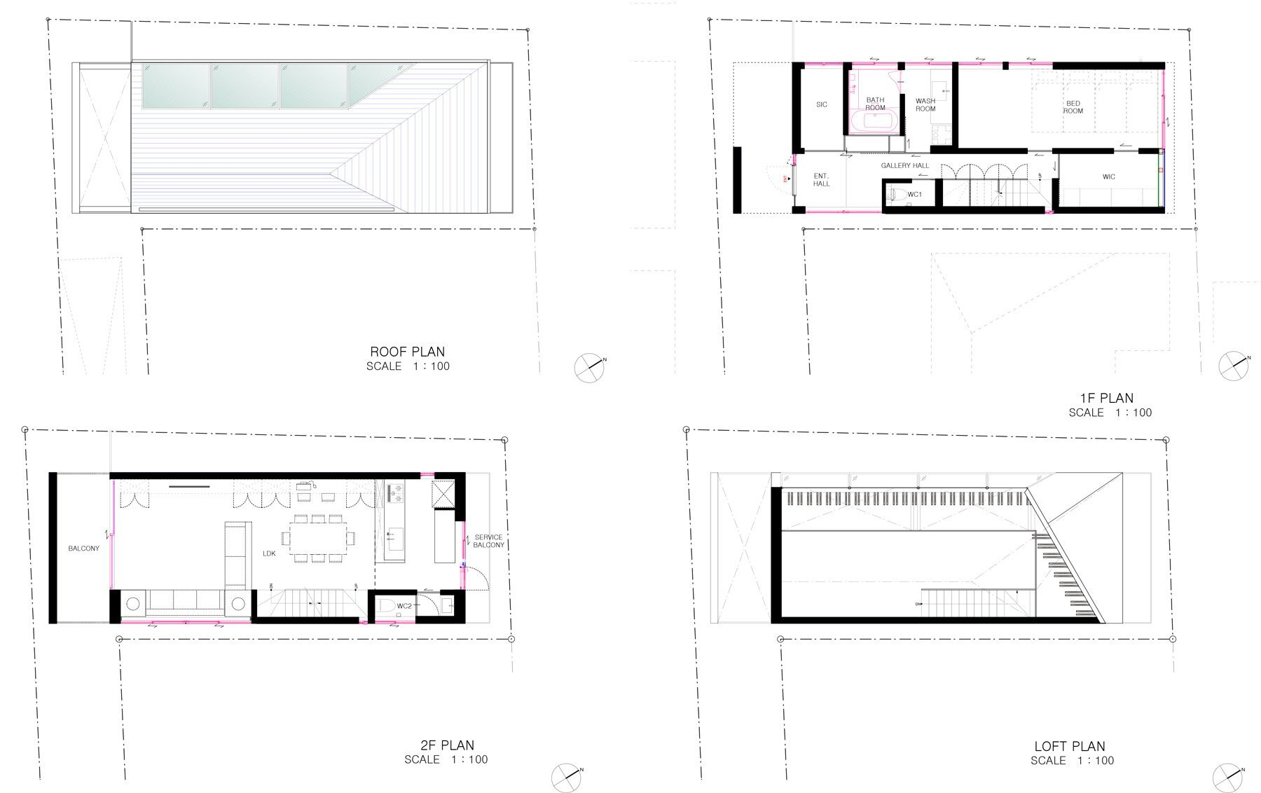 Japanese House Plans Nord  A Minimalist Japanese House Inspiredreligious Architecture