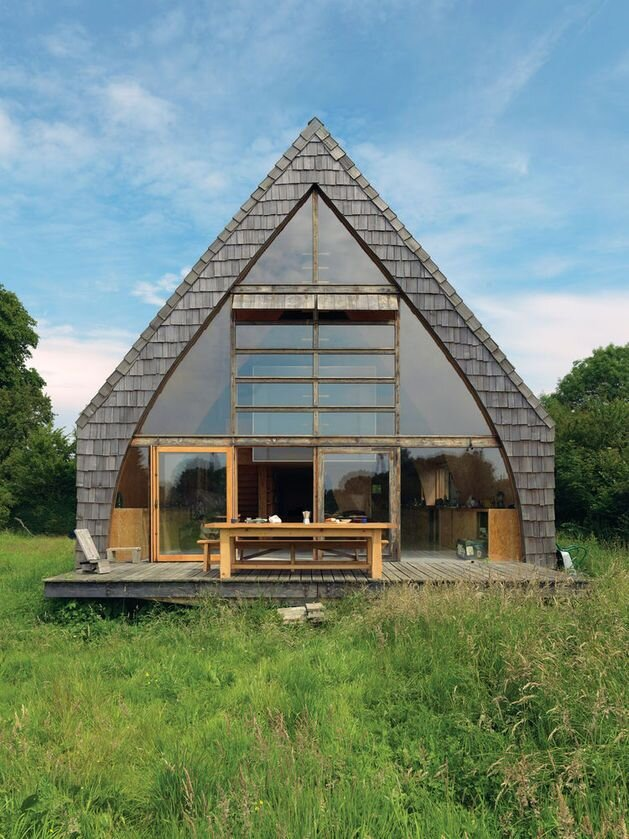 A Charming Off Grid DIY Cabin In France By Jean Barache