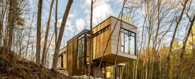 Val Des Monts - Retreat - Christopher Simmonds - Ottawa - Exterior - Humble Homes