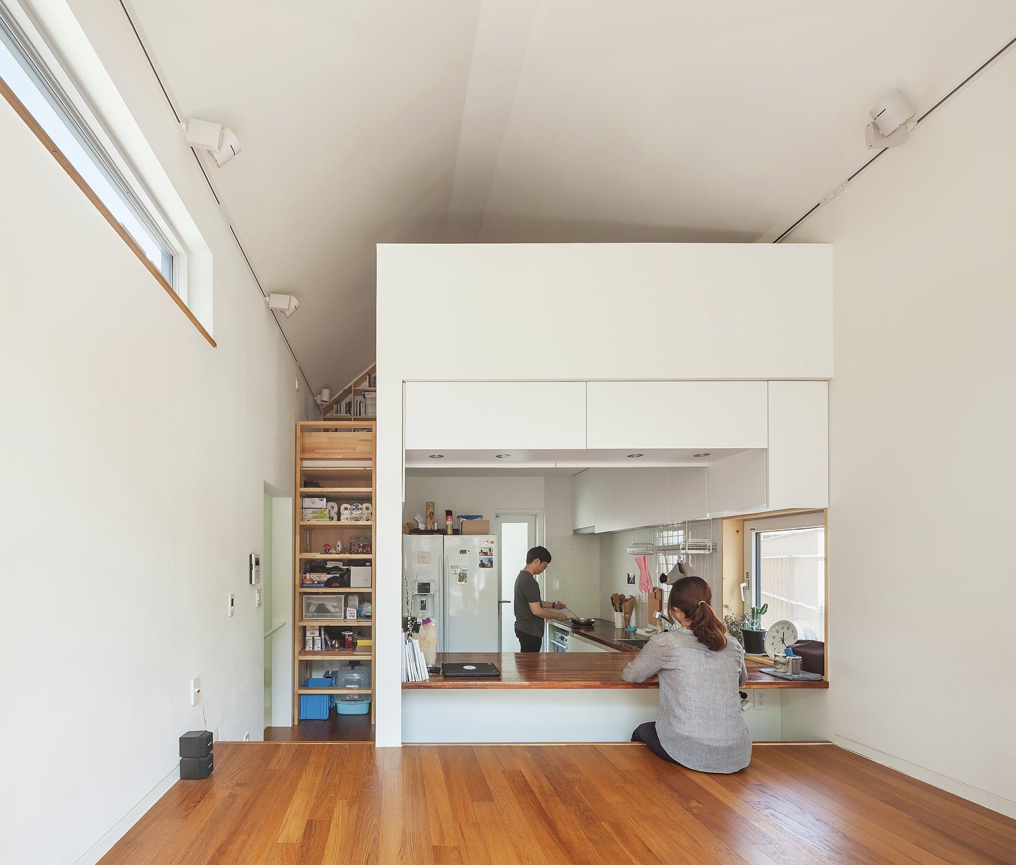 50m2 House - OBBA - Seoul - Living Area - Humble Homes