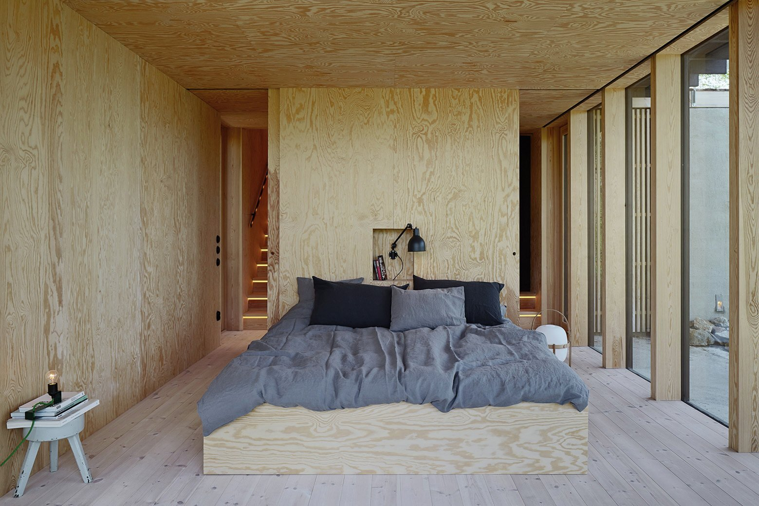 Aspvik House - Small House - Andreas Martin Löf Arkitekter - Sweden - Bedroom - Humble Homes