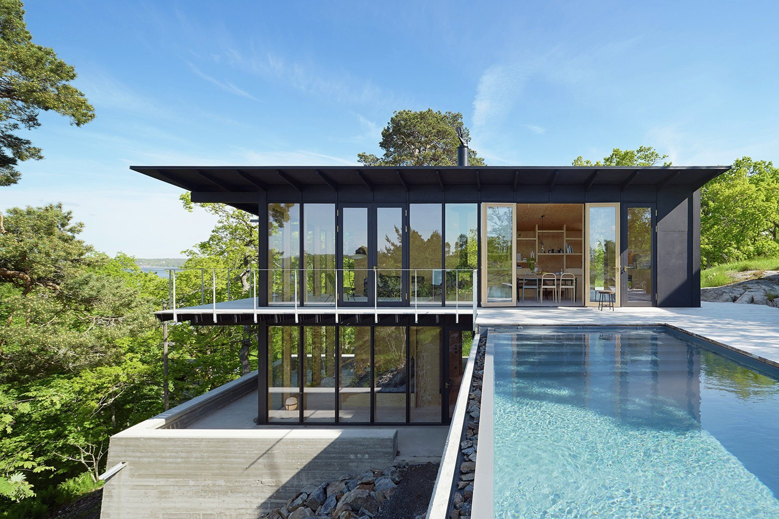 Aspvik House - Small House - Andreas Martin Löf Arkitekter - Sweden - Exterior - Humble Homes