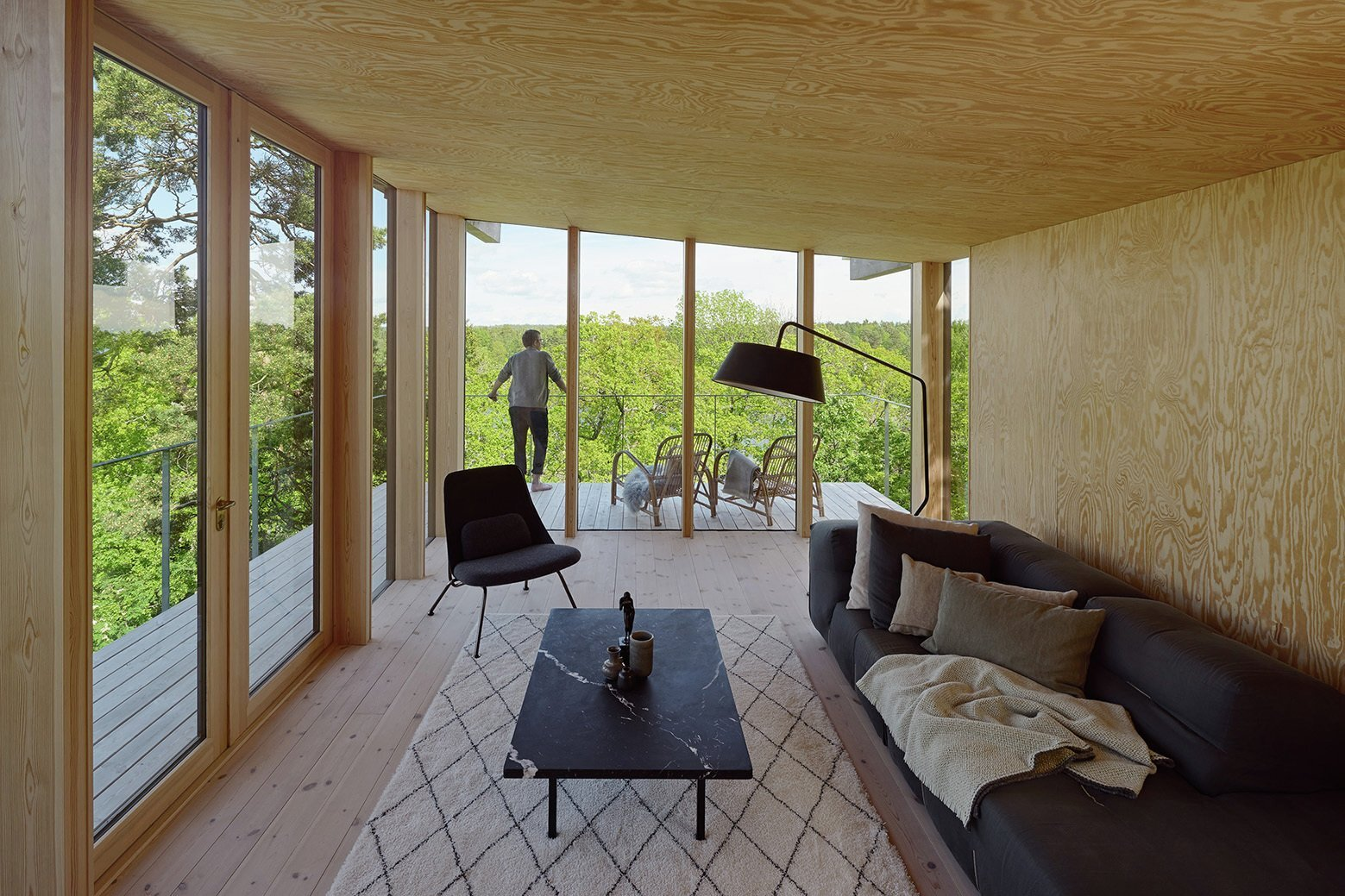 Aspvik House - Small House - Andreas Martin Löf Arkitekter - Sweden - Living Area - Humble Homes