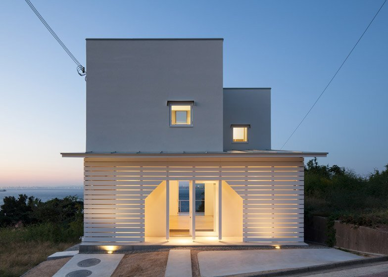 awaji island house izue small house japan exterior humble homes - Japanese Architecture Small Houses