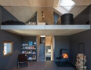 Holzhaus am Auerbach - Small House - Christine Arnhard and Markus Eck - Germany - Living Room - Humble Homes