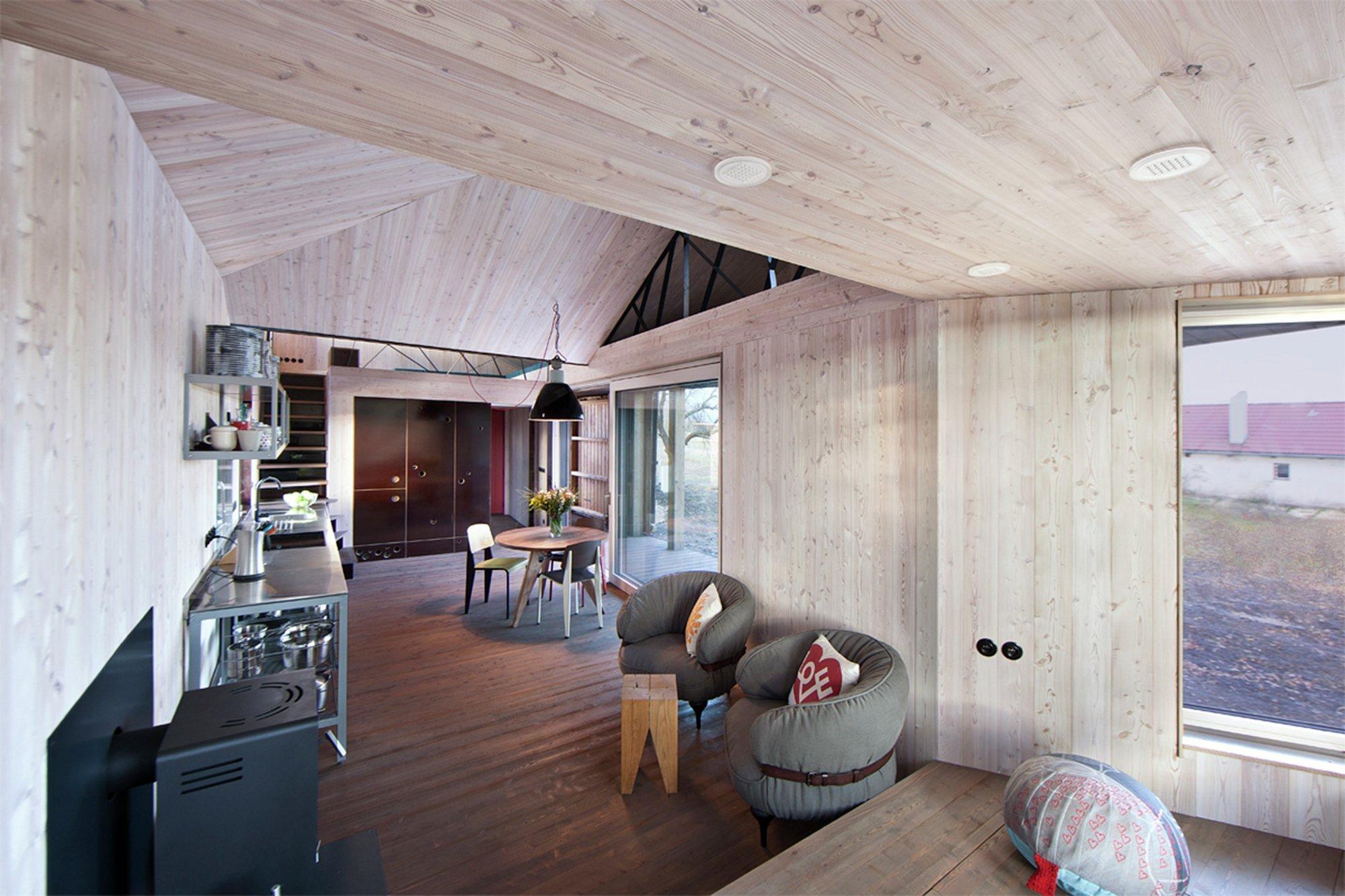 House Zilvar - Small House - ASGK Design - Czech - Living Area - Humble Homes