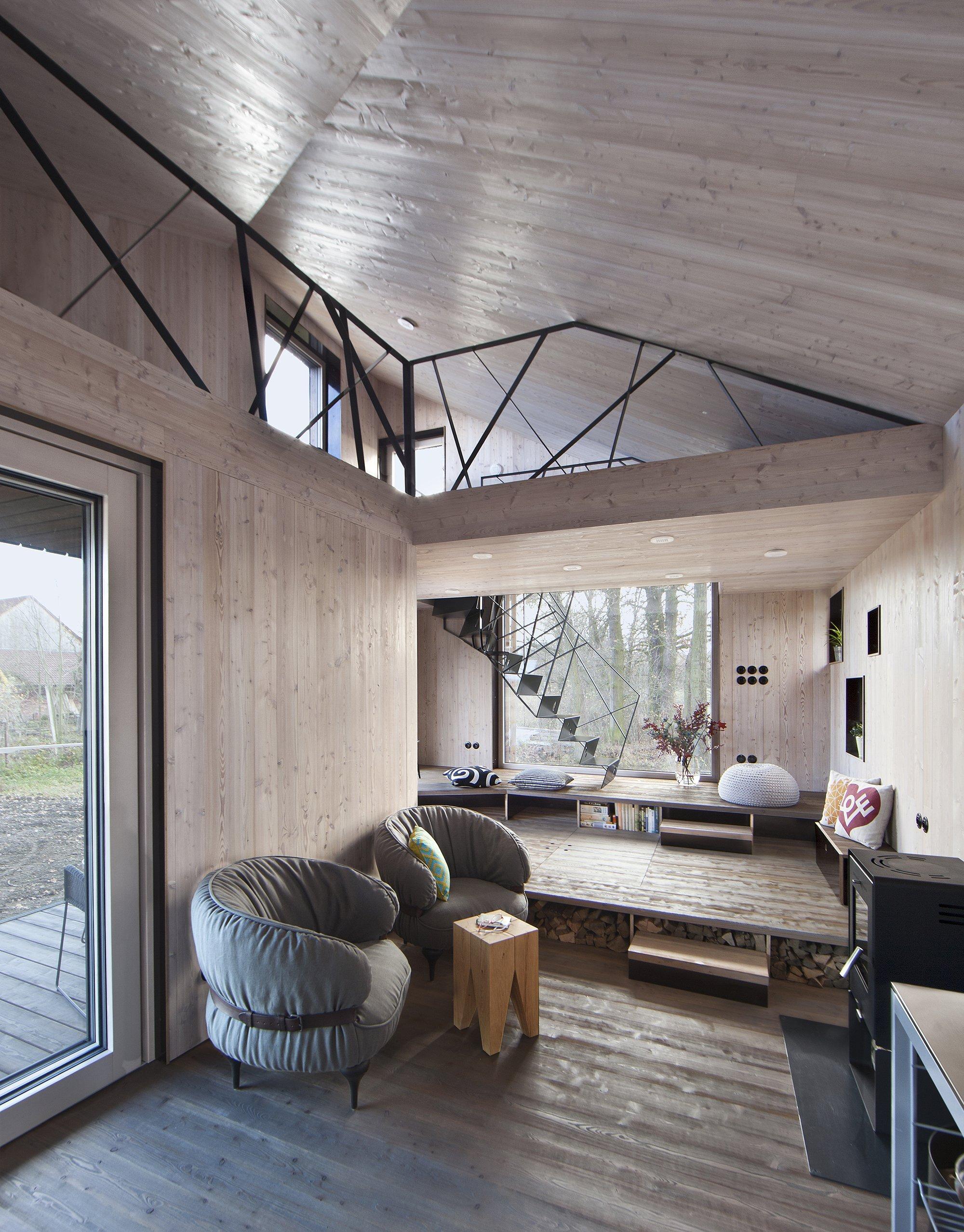 House Zilvar - Small House - ASGK Design - Czech - Loft - Humble Homes