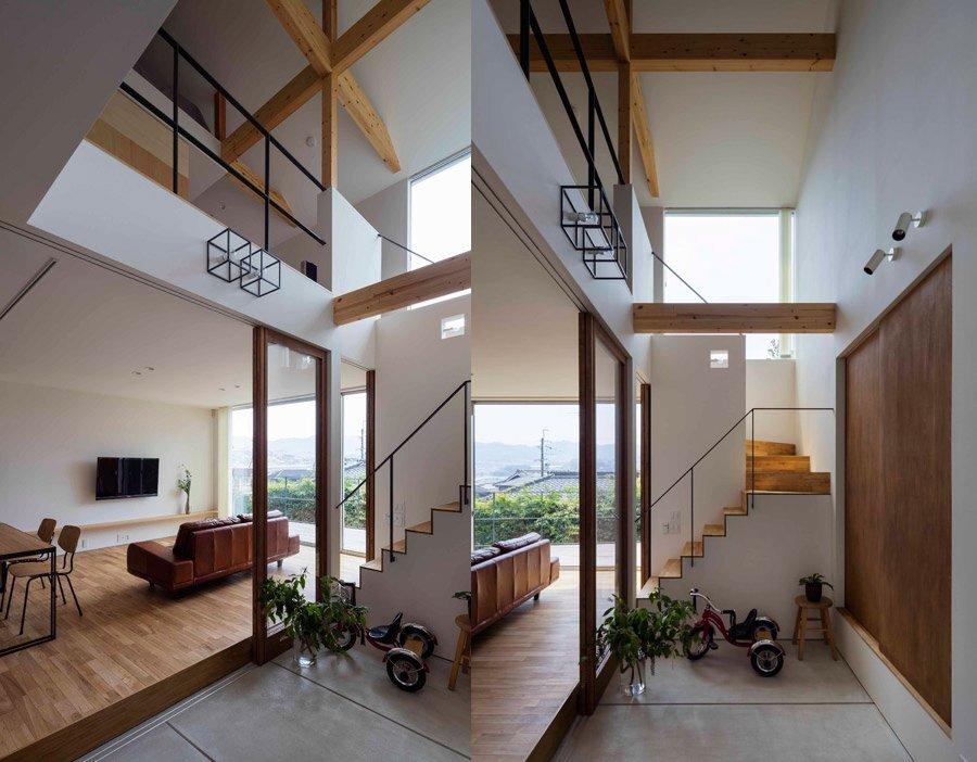 House in Ikoma - Arbol Design Studio - Japan - Staircase - Humble Homes