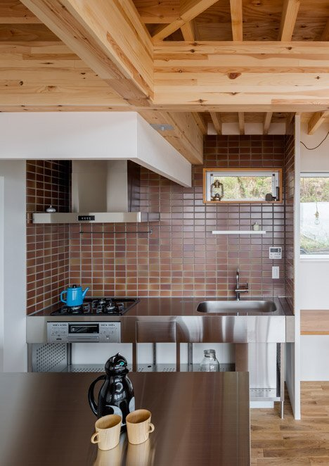 House in Kitakamakura - Small House - Sunao Koase Architects - Japan - Kitchen - Humble Homes