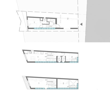 Mini House - Narrow House - AIN Group - Seoul - Floor Plan - Humble Homes