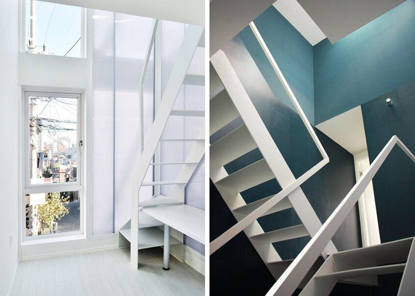 Mini House - Narrow House - AIN Group - Seoul - Staircase - Humble Homes