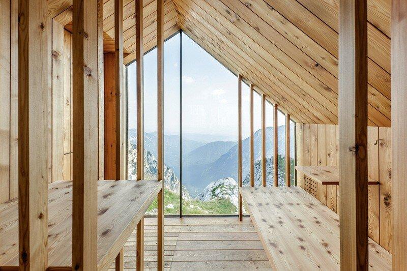 Skuta Mountain Cabin - OFIS architects - Slovenia - Interior 2 - Humble Homes