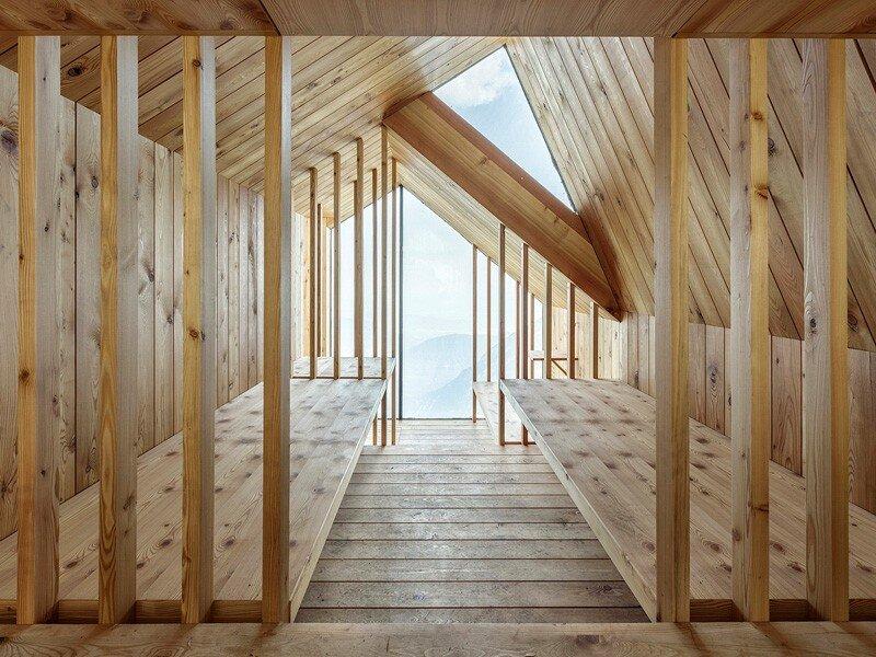 Skuta Mountain Cabin - OFIS architects - Slovenia - Interior - Humble Homes