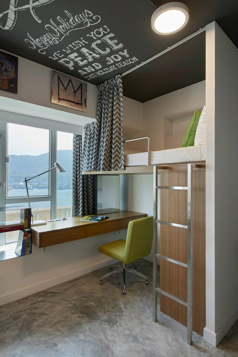 Student Apartment - LYCS Architecture - Hong Kong - Bunk - Humble Homes