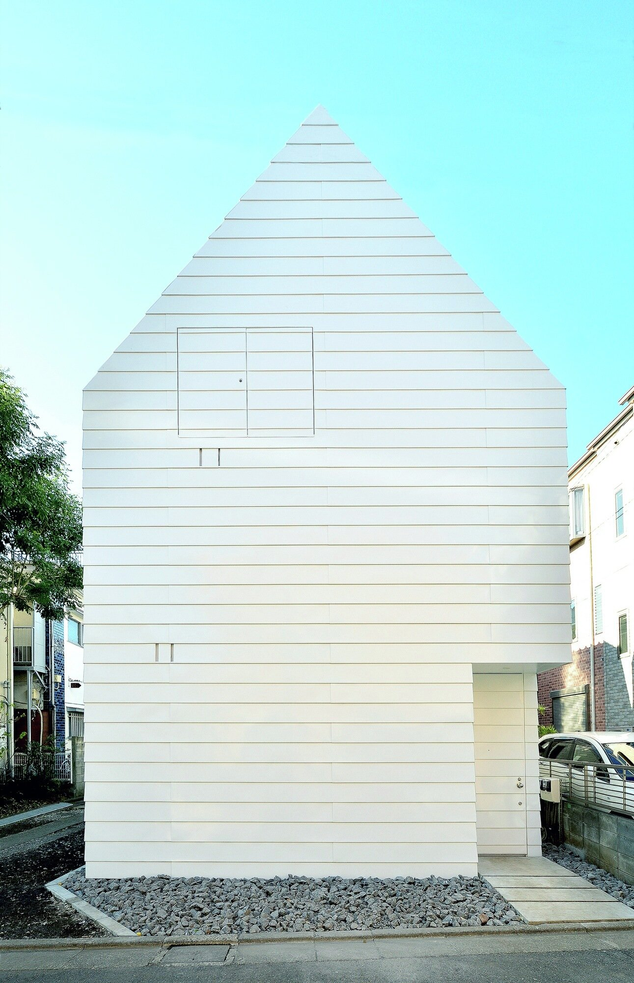 Townhouse in Takaban - Niji Architects - Tokyo - Exterior - Humble Homes