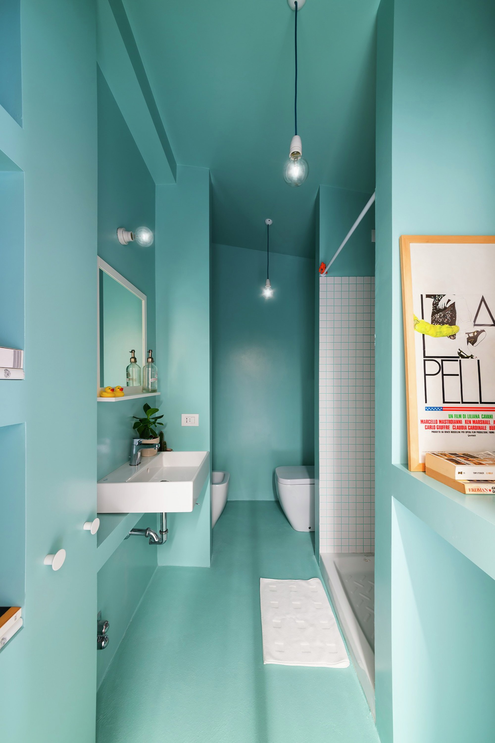 Batipin Flat - studioWOK - Italy - Bathroom - Humble Homes