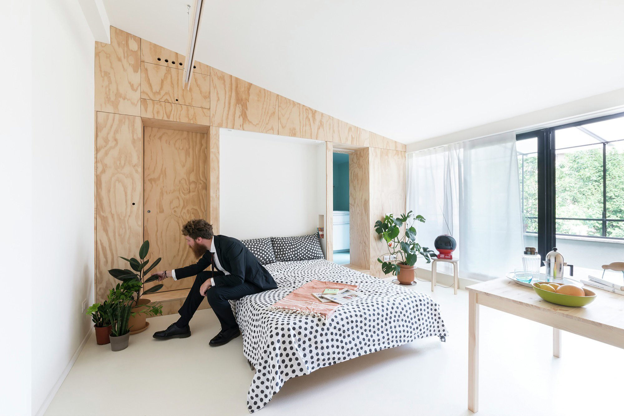 Batipin Flat - studioWOK - Italy - Converted to Bedroom - Humble Homes