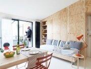 Batipin Flat - studioWOK - Italy - Living Room - Humble Homes