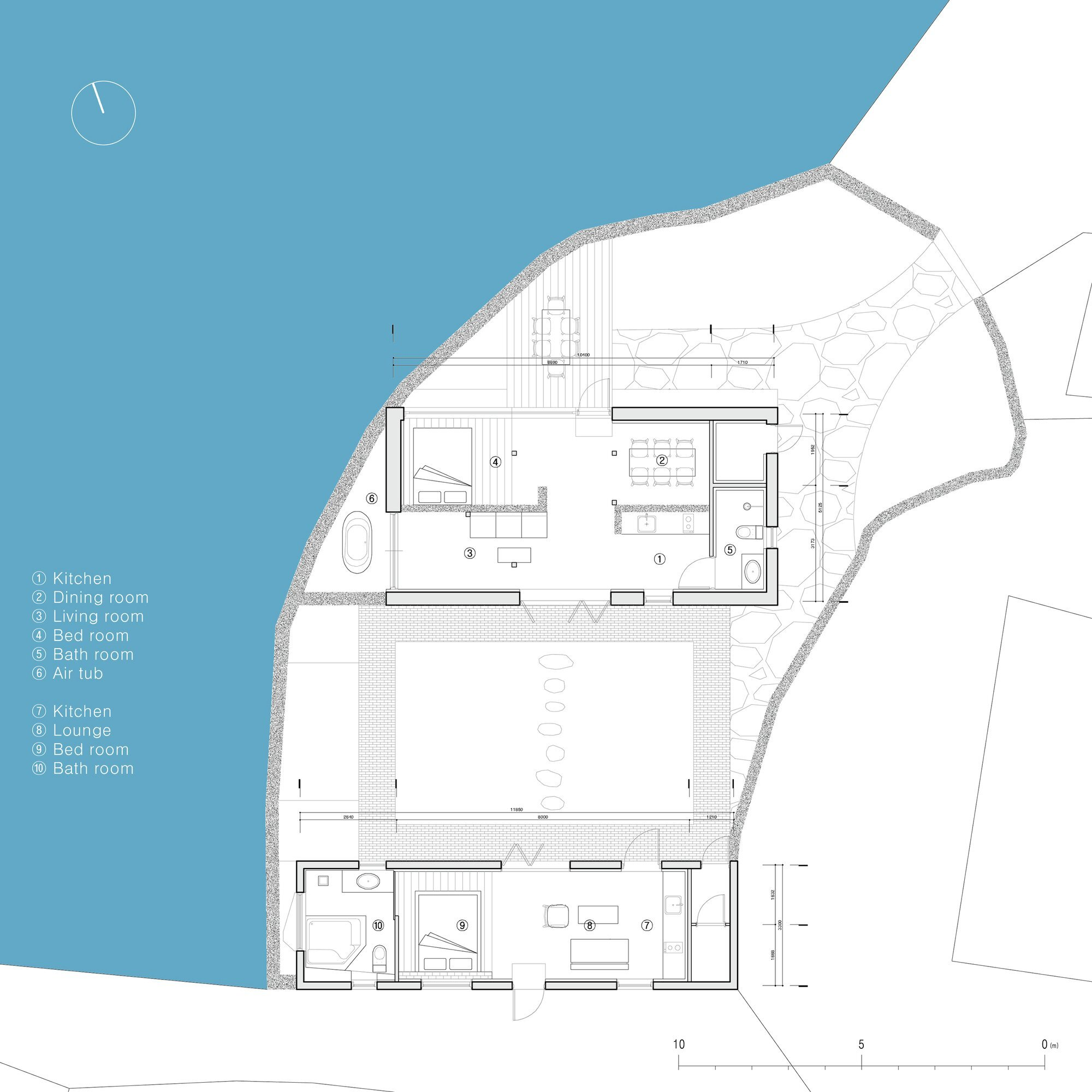 Blind Whale - Z_Lab - South Korea - Floor Plan - Humble Homes
