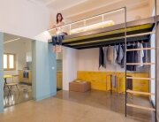 G-Roc Apartment - Nook Architects - Barcelona - Lofted Bed - Humble Homes