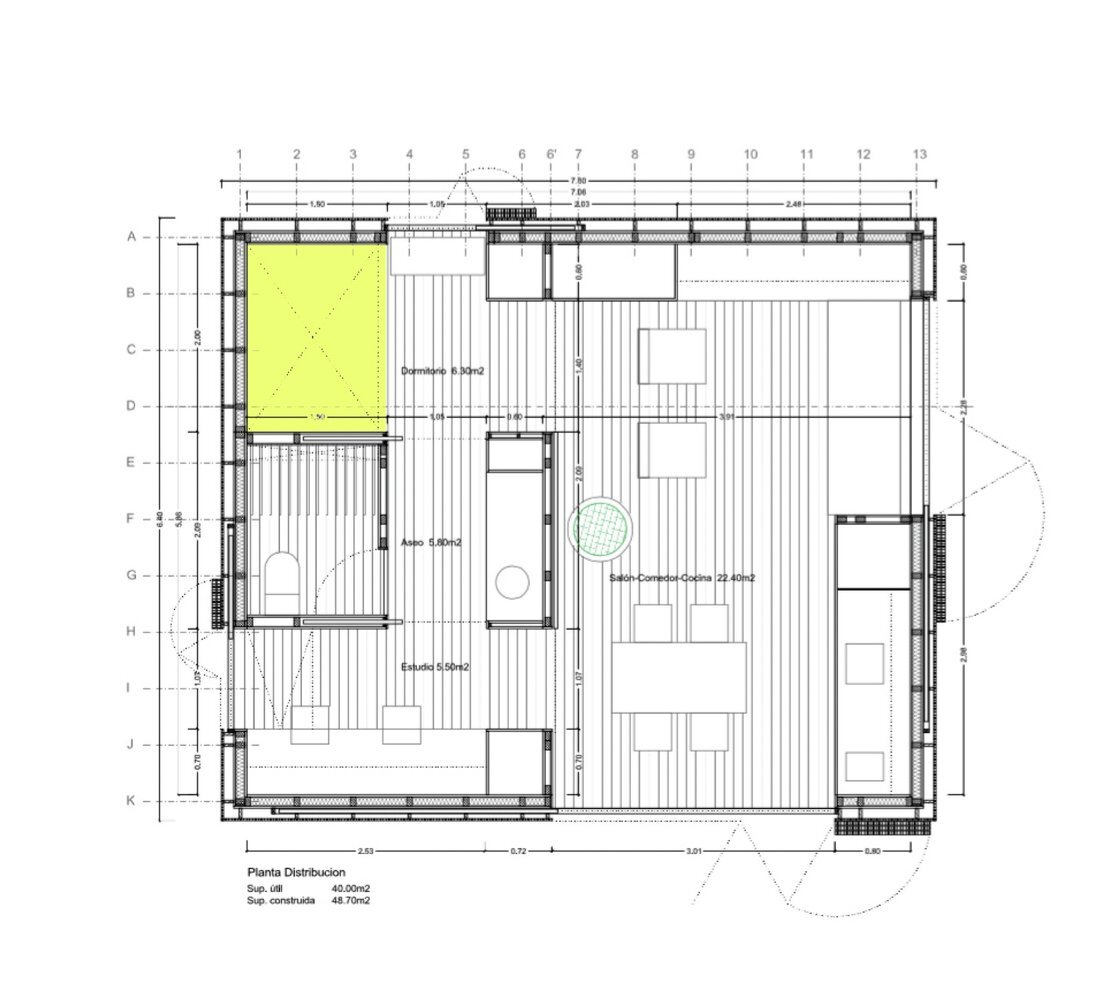House Prototype - Luis Roldan Velasco + Ángel Hevia Antuña - Ecuador - Floor Plan - Humble Homes
