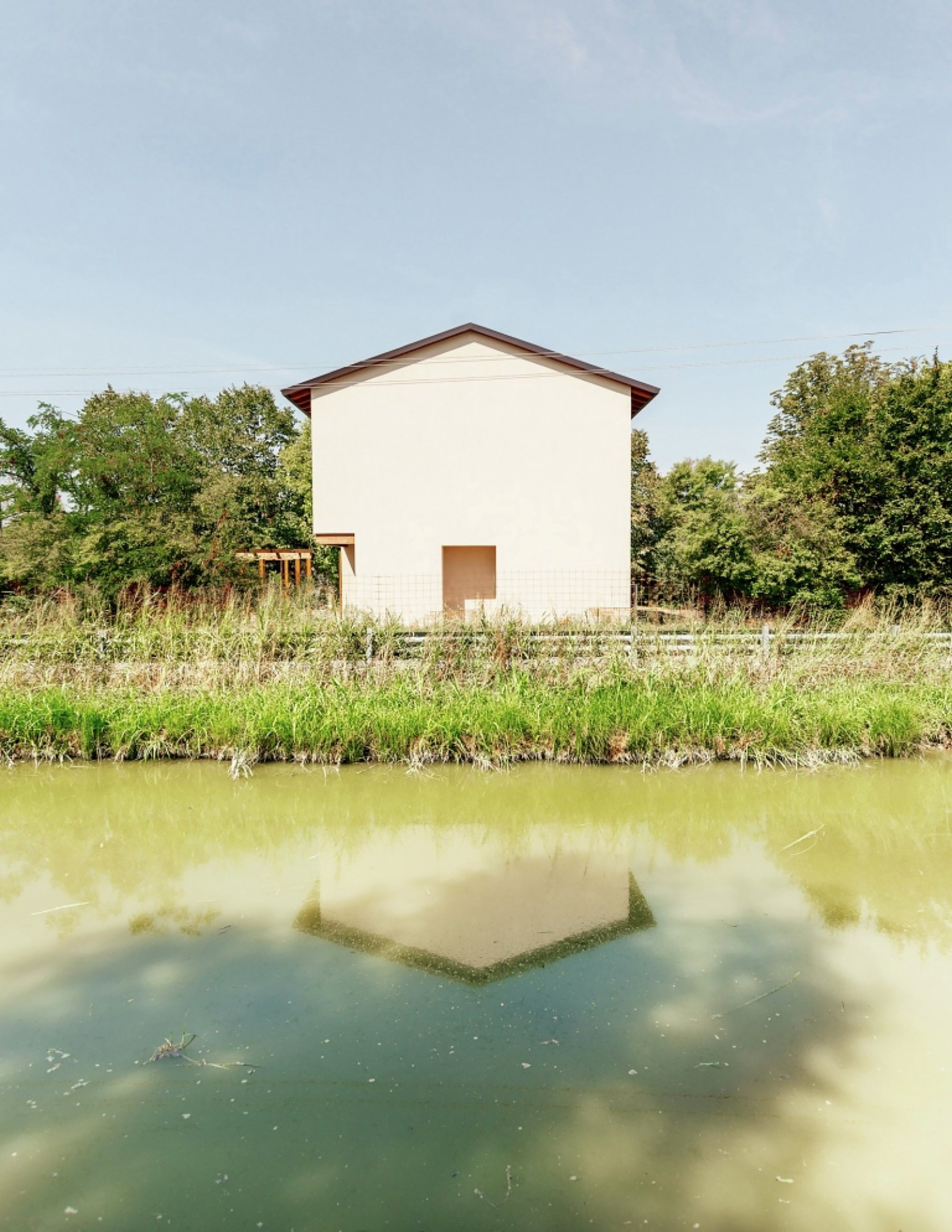 Modest Home Images modest italian home sits quietly among the landscape of novellara Modest Italian Home Sits Quietly Among The Landscape Of Novellara