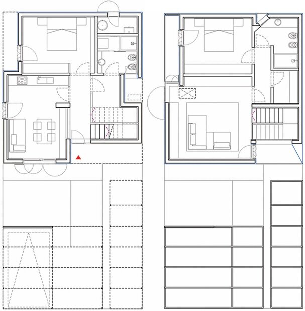 House in Novellara - KM 429 architecture - Italy - Floor Plan - Humble Homes