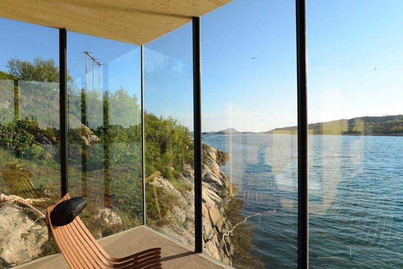 Manshausen Island Resort - Stinessen Arkitektur - Norway - Interior View - Humble Homes
