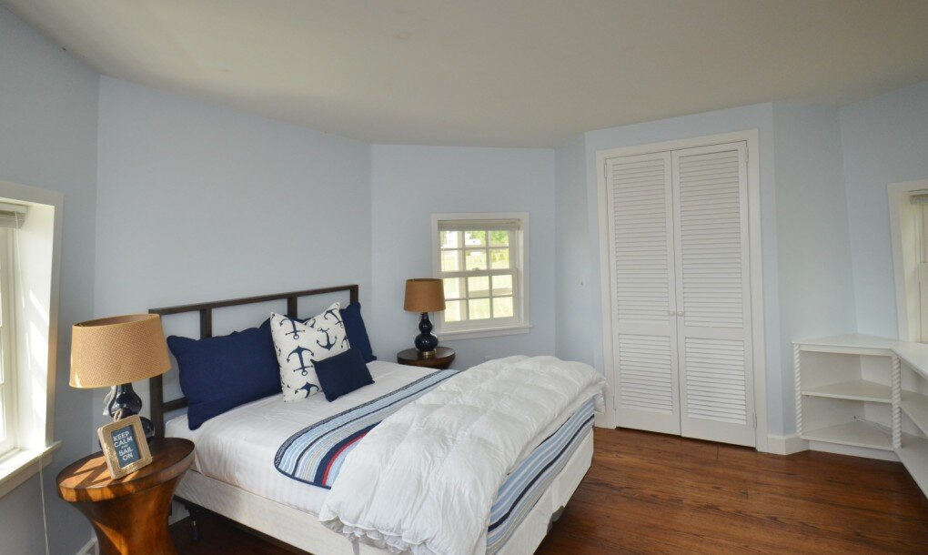Windmill House Conversion - Sothebys - Connecticut - Bedroom - Humble Homes