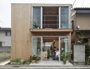 Wooden Box House - Suzuki Architects - Kawaguchi Japan - Exterior - Humble Homes