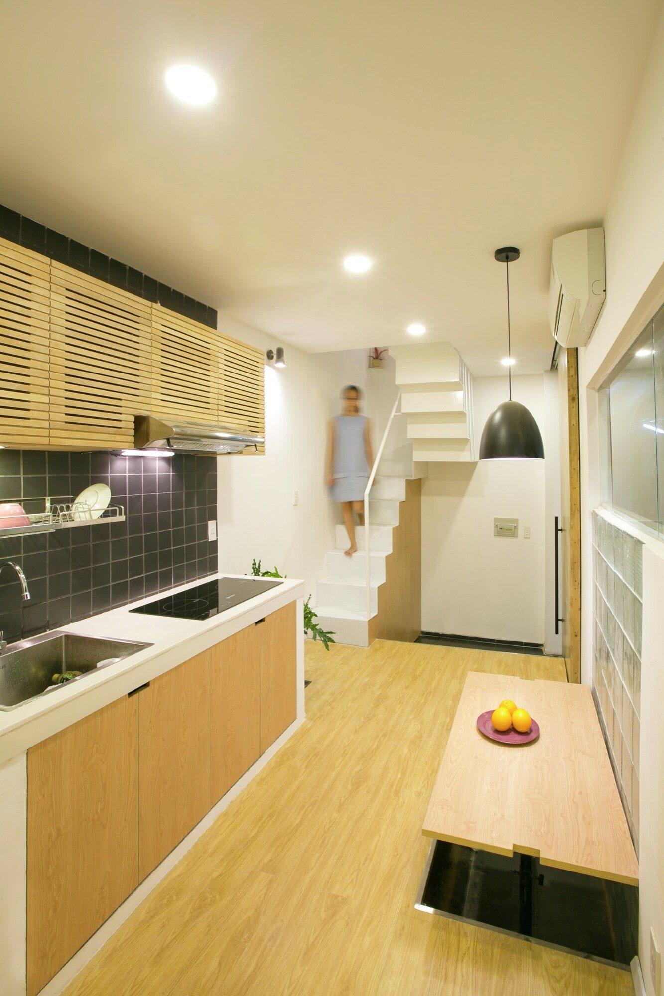 2.5 House - Khuon Studio - Vietnam - Kitchen - Humble Homes