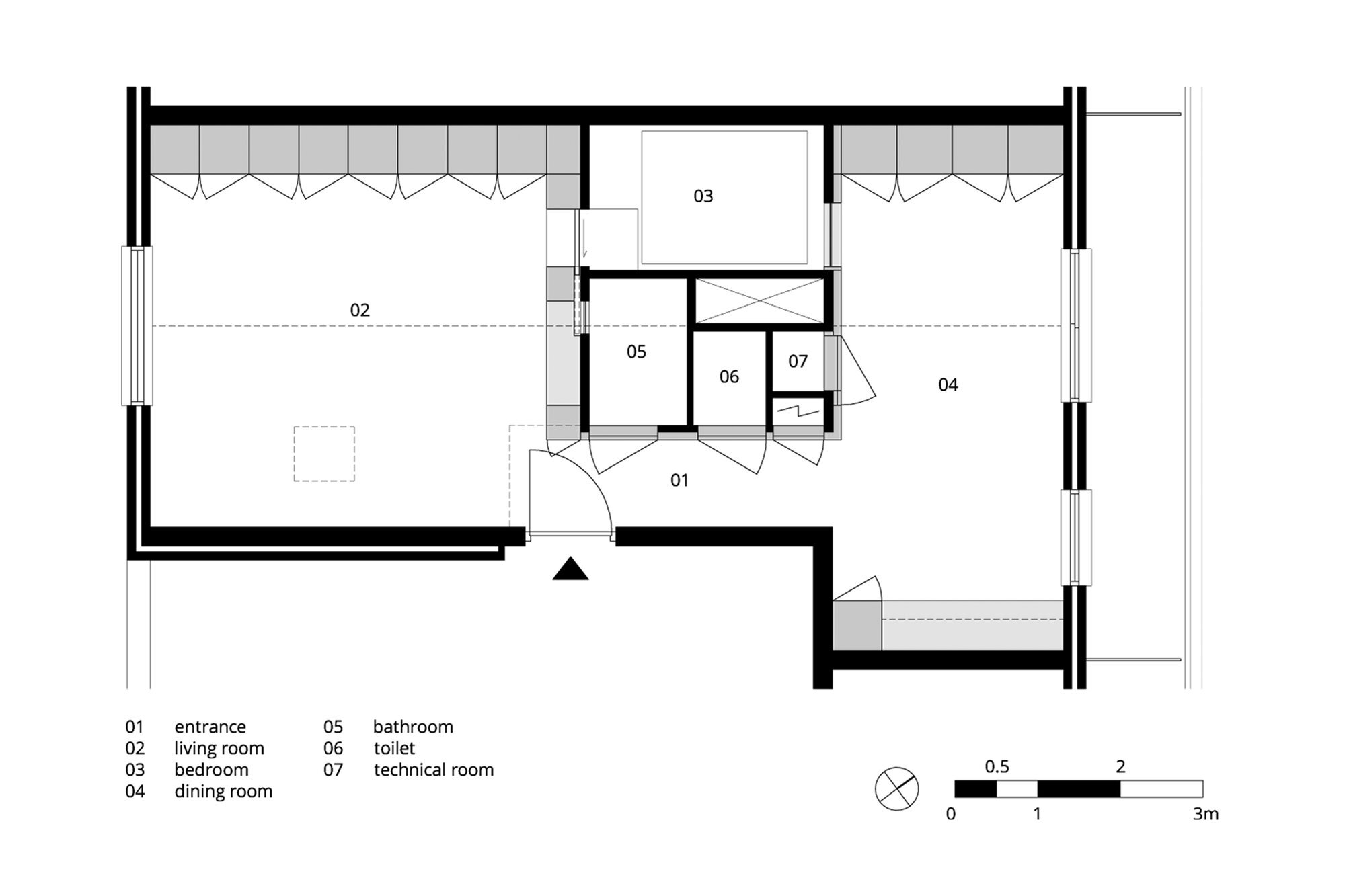 Amsterdam Urban Loft - Bureau Fraai - Amsterdam - Floor Plan - Humble Homes